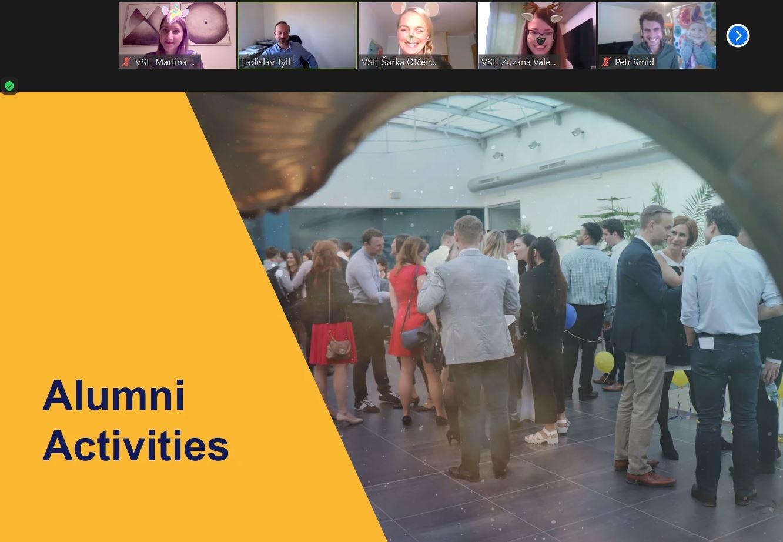Alumni Soirée 2020 Sucessfully Organized Online