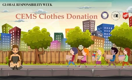 CEMS Clothes Donation