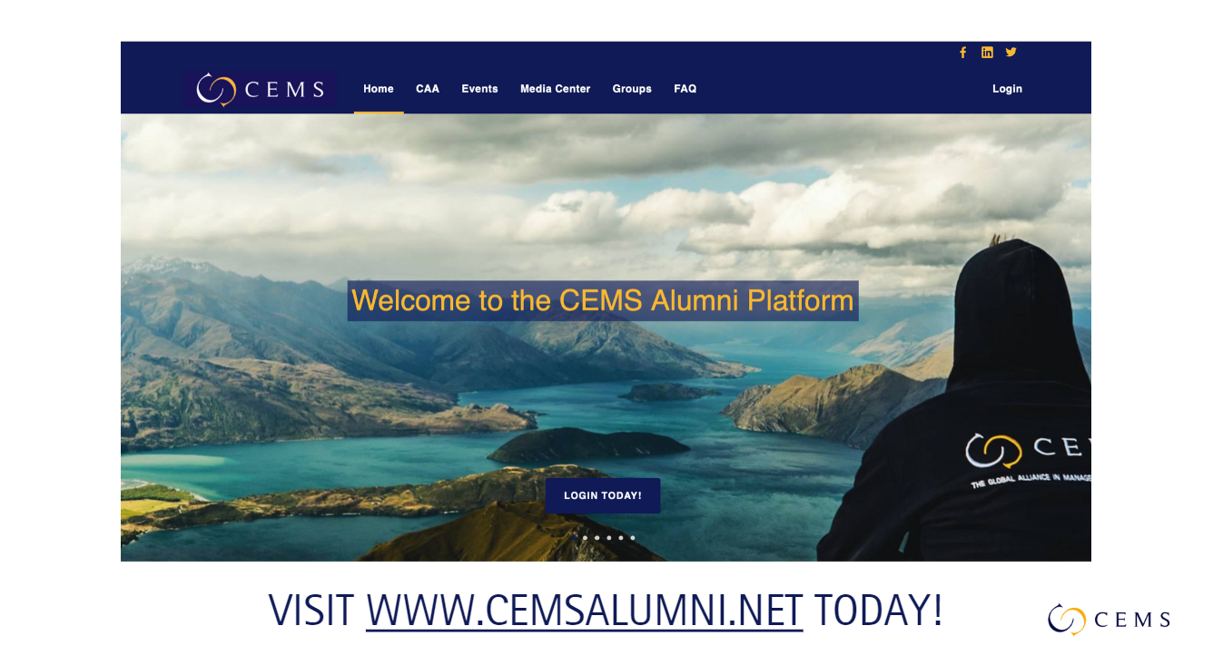 Visit cemsalumni.net today!