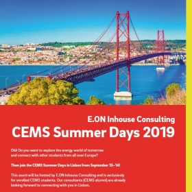 E.ON Inhouse Consulting – CEMS Summer Days 2019