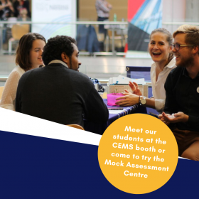 CEMS Mock Assessment Centre at Job Fair Šance – October 17