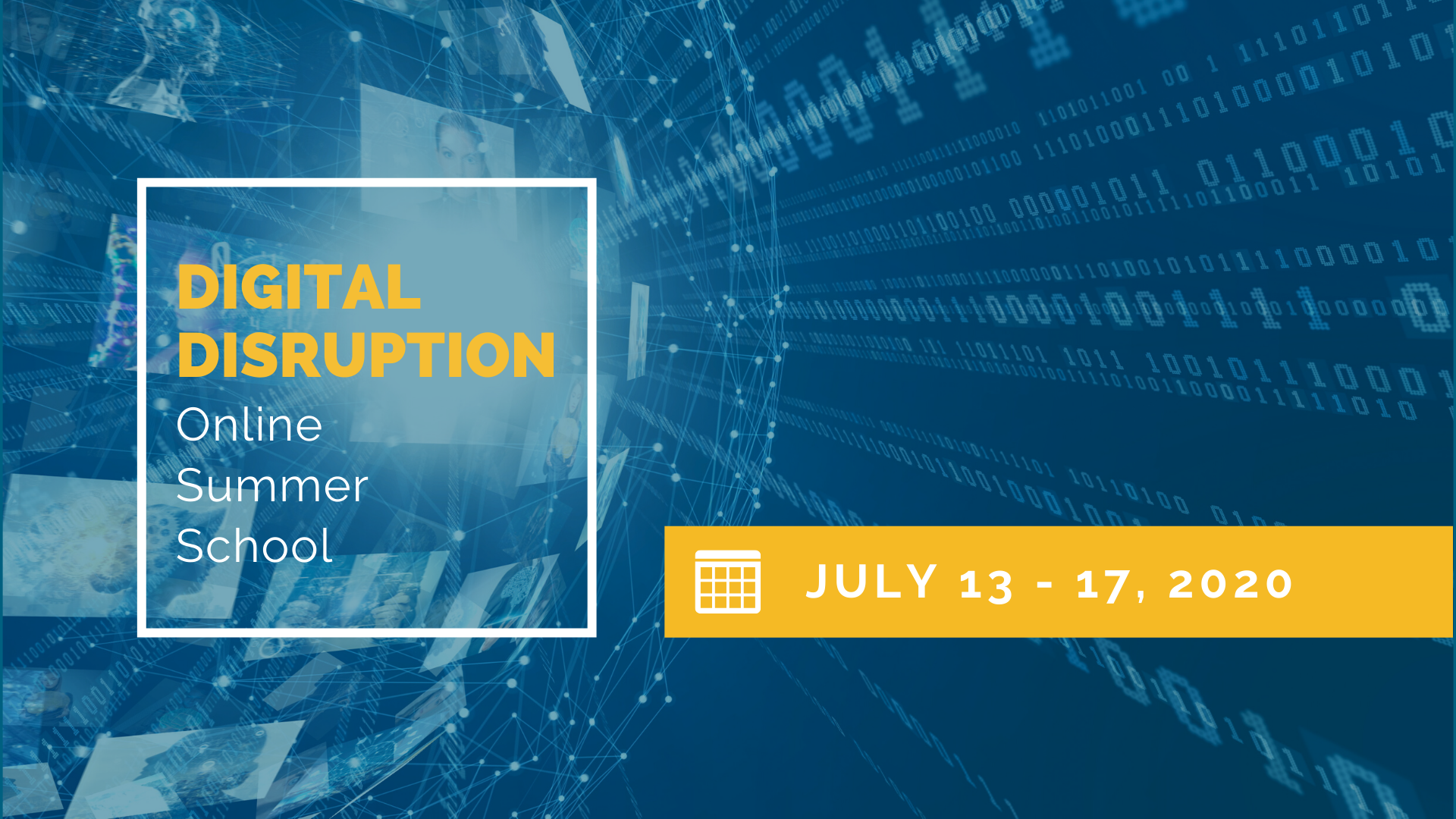 Online Summer School at Faculty of Business Administration: Digital Disruption