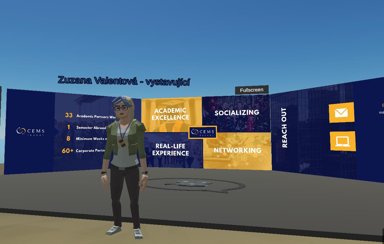 CEMS at Virtual Job Fair ŠANCE Islands /Tuesday, April 20/