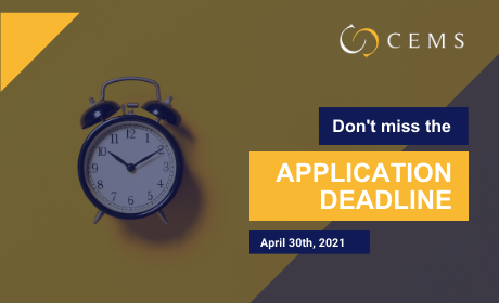 Don't Miss the Application Deadline /April 30th/