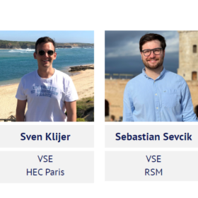 CEMS Club Prague President and Vice-President Elected