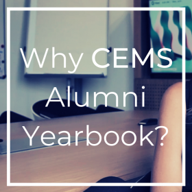 Join the new CEMS Alumni Yearbook!