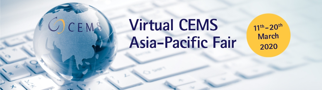We are delighted to announce that for the first time, CEMS is organising a virtual APAC Career Fair in 2020!