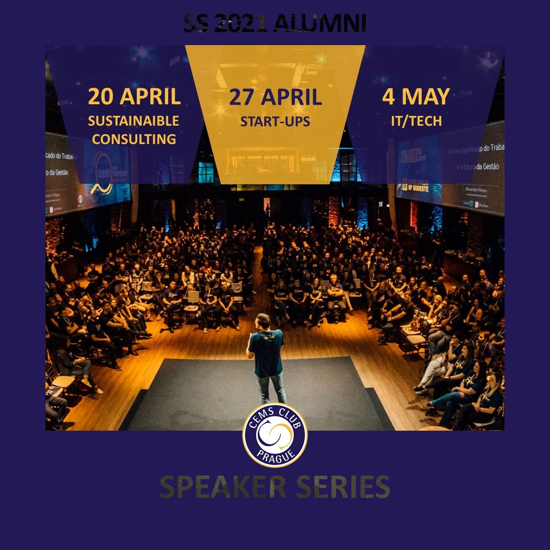 CEMS Alumni Speaker Series - Dates & Topics